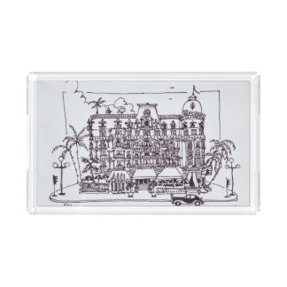 Hotel Negresco English Promenade | Nice, France Acrylic Tray