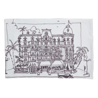 Hotel Negresco English Promenade | Nice, France Pillowcase