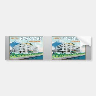 Hotel New Grand Yokohama, Vintage Bumper Stickers