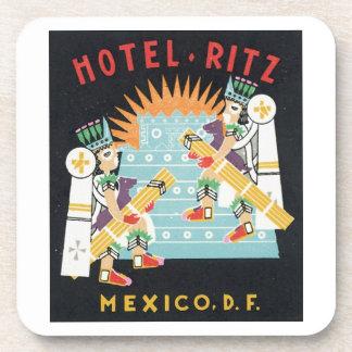 Hotel Ritz Mexico, D.F. Beverage Coaster