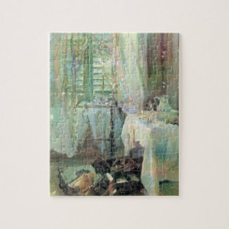 Hotel Room by Sargent, Vintage Victorian Fine Art Jigsaw Puzzle