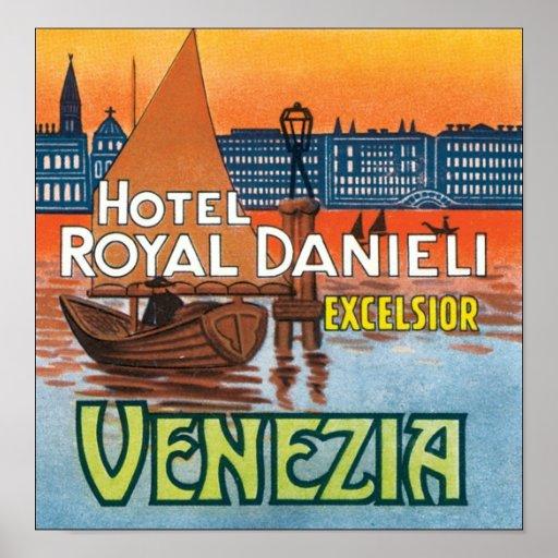 Hotel Royal Danieli Excelsior Venezia Poster
