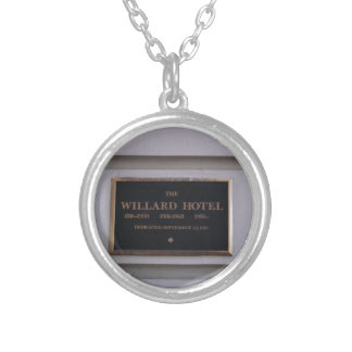 Hotel Silver Plated Necklace