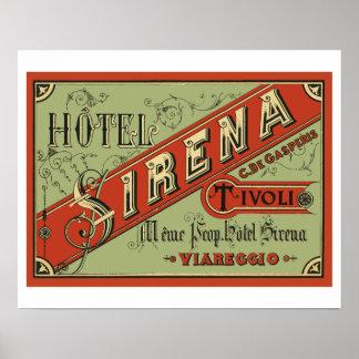 Hotel Sirena (Tivoli - Italy) Posters