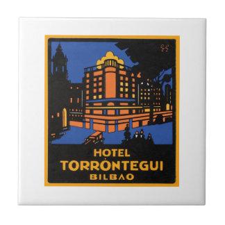 Hotel Torrontegui Bilbao Small Square Tile