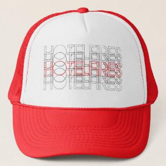 HotelFires Trucker Hat Hoops