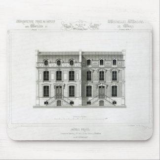 Hotels Prives, 10 & 12 Rue Balzac, Paris Mouse Pad