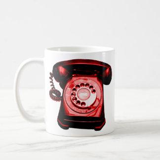 Hotline Crimson Classic White Coffee Mug