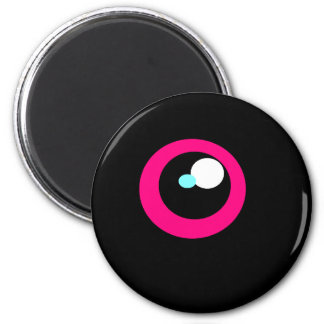 HotPink Monster Fridge Eye magnet #2