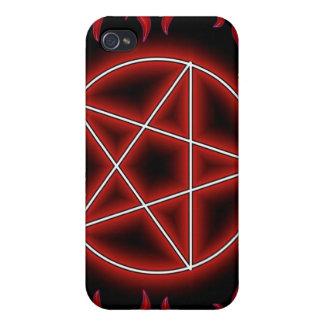 HotRod Pentagram iPhone 4/4S Cover