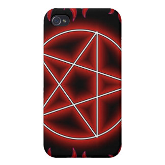 HotRod Pentagram iPhone 4 Cases