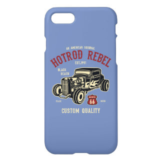 Hotrod Rebel Glossy Phone Case