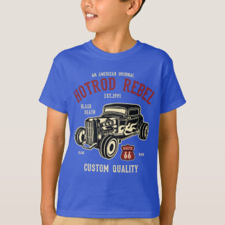 Hotrod Rebel Kids' TAGLESS® T-Shirt
