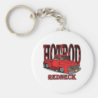 Hotrod Redneck Key Ring