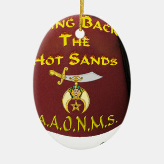 HOTSANDS CERAMIC ORNAMENT