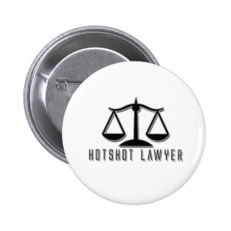 Hotshot Lawyer Pinback Buttons