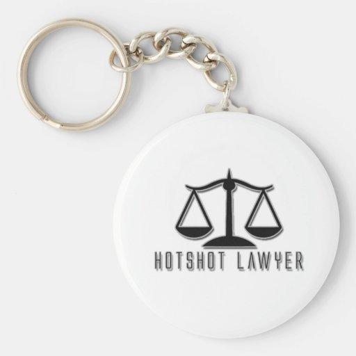 Hotshot Lawyer Keychains