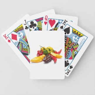 Hottest chilies bicycle playing cards
