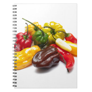 Hottest chilies notebook