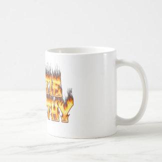 Hottie Dorothy fire and flames Coffee Mug