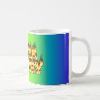 Hottie Dorothy fire and flames. Coffee Mug