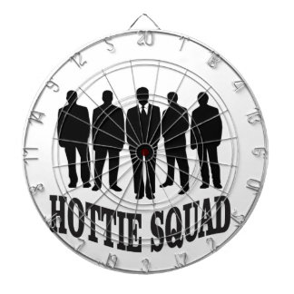 hottie squad dartboard