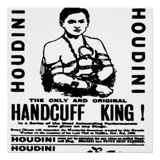 Houdini at the Palace Theatre Poster