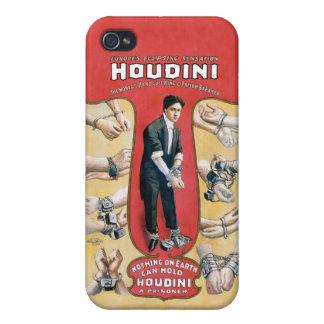 Houdini Handcuff King iPhone 4 Cover