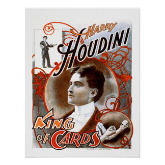 Houdini - King of Cards Poster