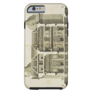 Houghton Hall: cross-section of the Hall and Salon Tough iPhone 6 Case