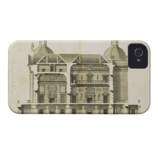 Houghton Hall: cross-section of the Hall and Salon iPhone 4 Case-Mate Case