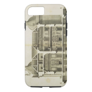 Houghton Hall: cross-section of the Hall and Salon iPhone 7 Case