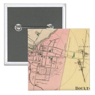 Houlton, Aroostook Co 15 Cm Square Badge
