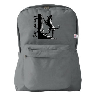 Hound Dog Backpack Coonhound Dog Backpacks Custom