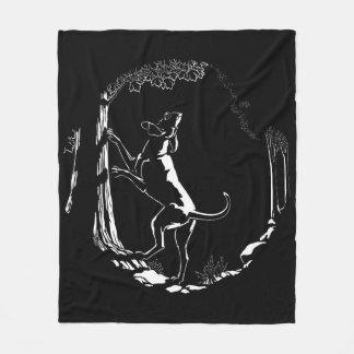 Hound Dog Blanket Coonhound Hunting Dog Blanket