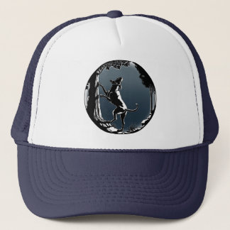 Hound Dog Cap Hunting Dog Art Hats Caps