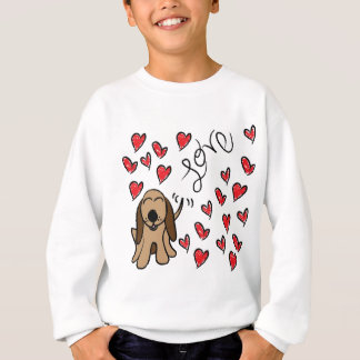 Hound Dog Love Sweatshirt