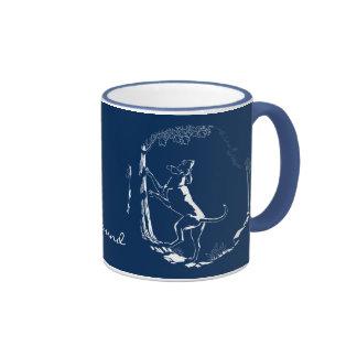 Hound Dog Mug Hunting Dog Art Coffee Cup