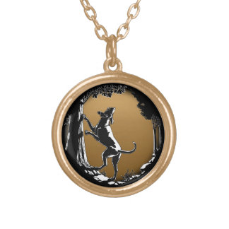Hound Dog Necklace Hunting Dog Art Necklace Gifts