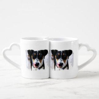 Hound Dog Couple Mugs