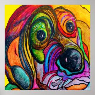 Hound Dog Poster