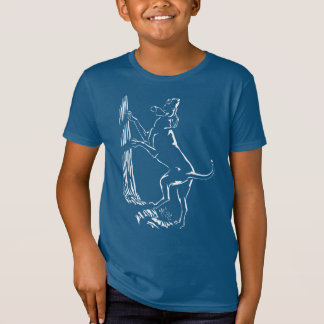 Hound Dog T-shirt Kid's Organic Hunting Dog Shirt