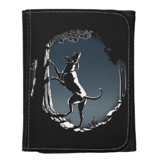Hound Dog Wallet Cool Hunting Dog Art Wallet Gifts