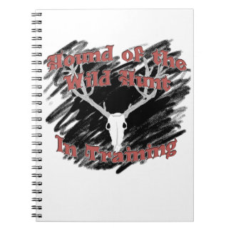 Hound of the Wild Hunt In Training Collection Spiral Note Books