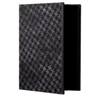 HOUNDSTOOTH2 BLACK MARBLE & BLACK WATERCOLOR POWIS iPad AIR 2 CASE