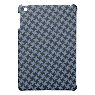 HOUNDSTOOTH2 BLACK MARBLE & BLUE DENIM CASE FOR THE iPad MINI