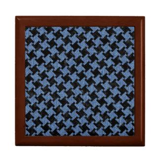 HOUNDSTOOTH2 BLACK MARBLE & BLUE DENIM GIFT BOX