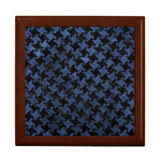 HOUNDSTOOTH2 BLACK MARBLE & BLUE STONE GIFT BOX