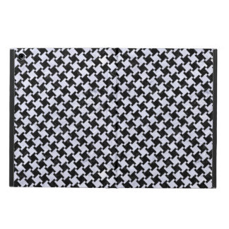 HOUNDSTOOTH2 BLACK MARBLE & WHITE MARBLE iPad AIR COVER