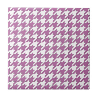 houndstooth bodacious and white tile